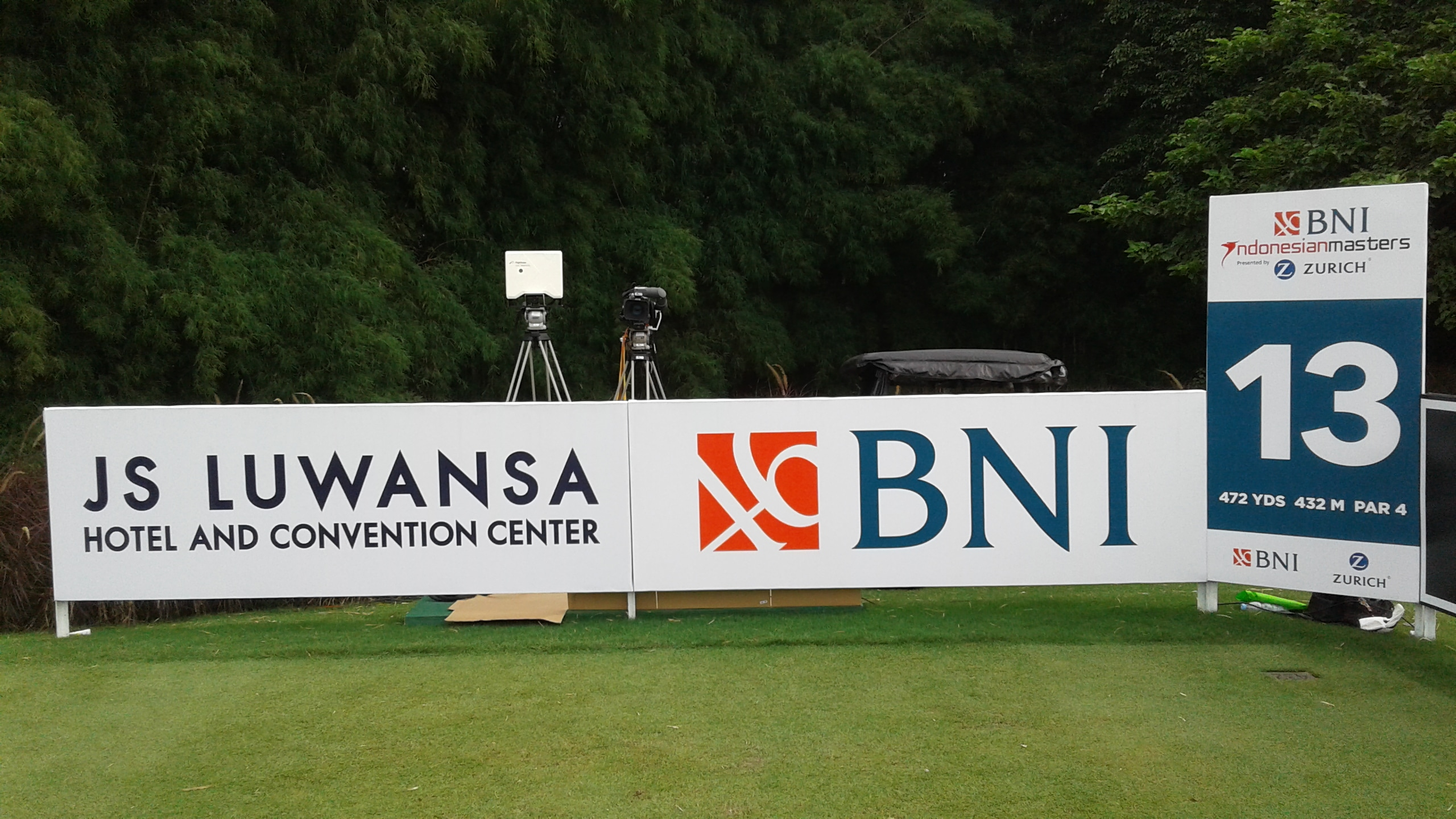 Flightscope At The Bni Indonesian Masters Launch Monitor
